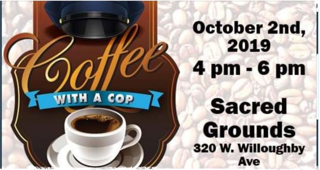 JPD Coffee with a Cop
