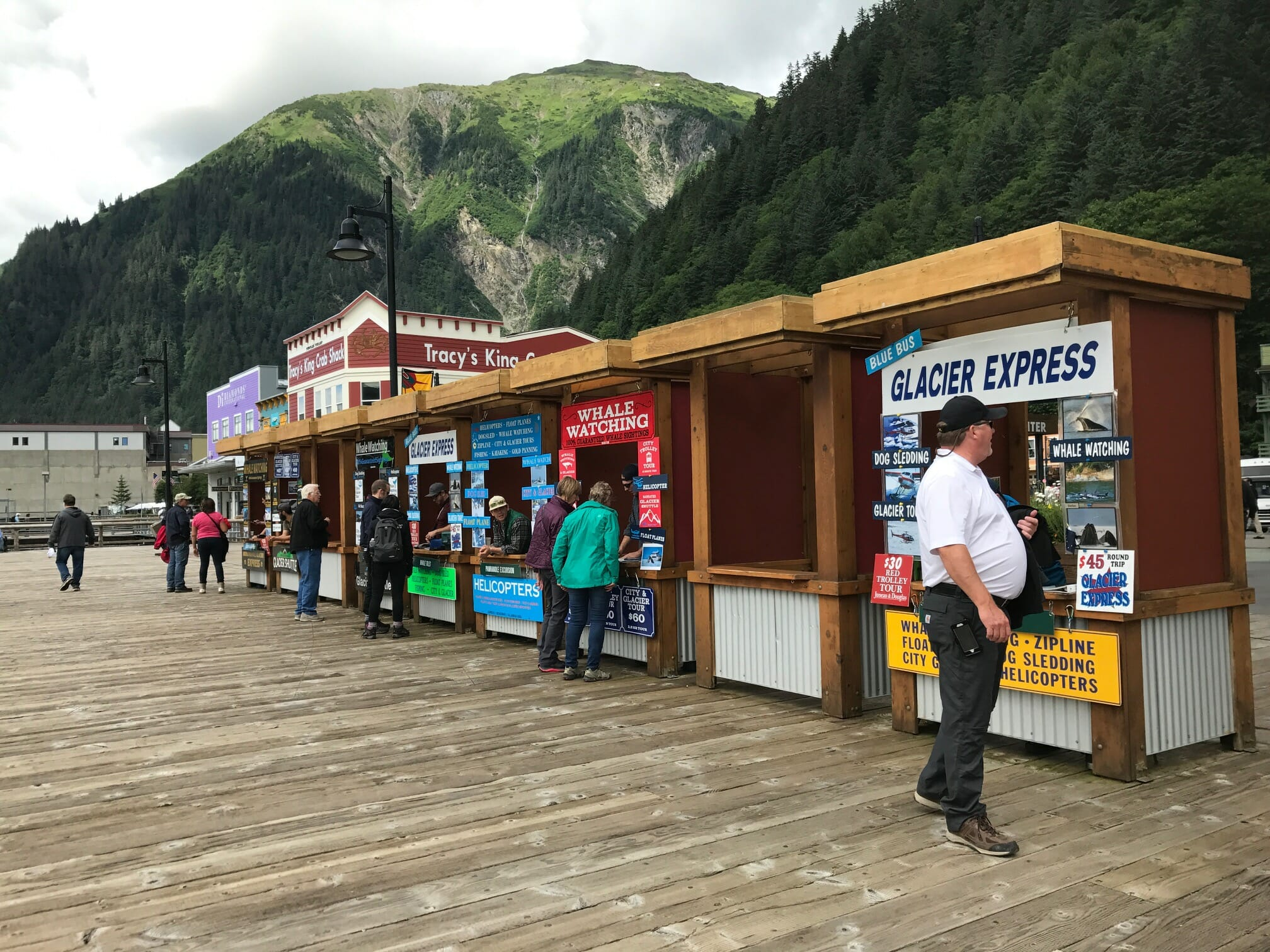 Juneau Docks and Harbor waterfront sales permits