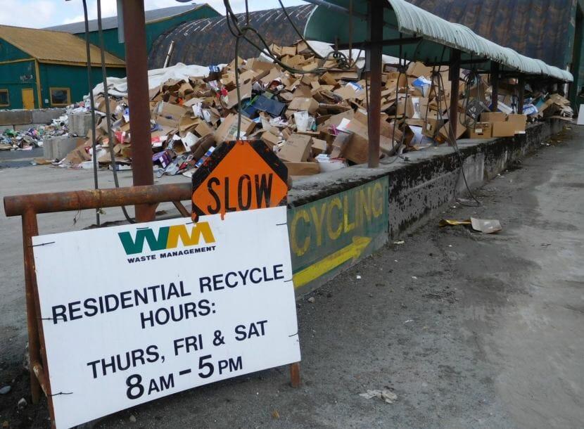 Juneau recycling center